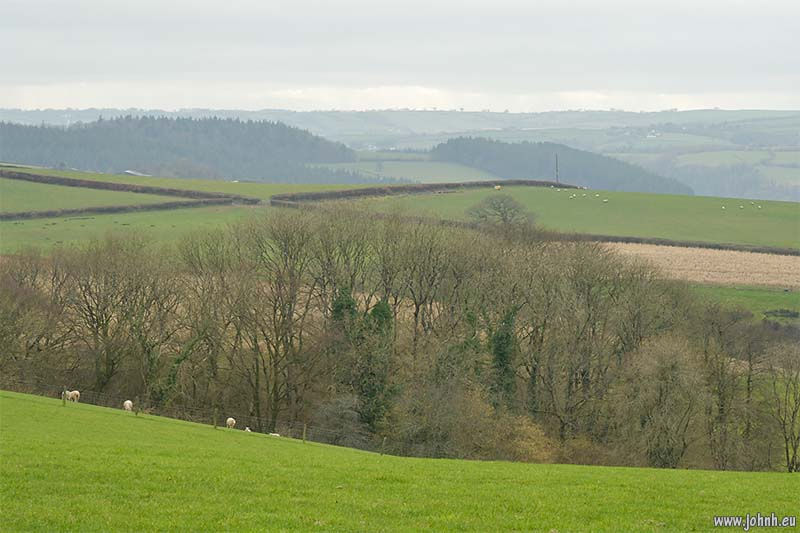 Green hills of Devon