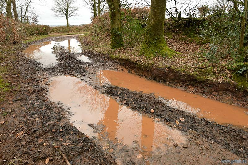 Red mud of Devon