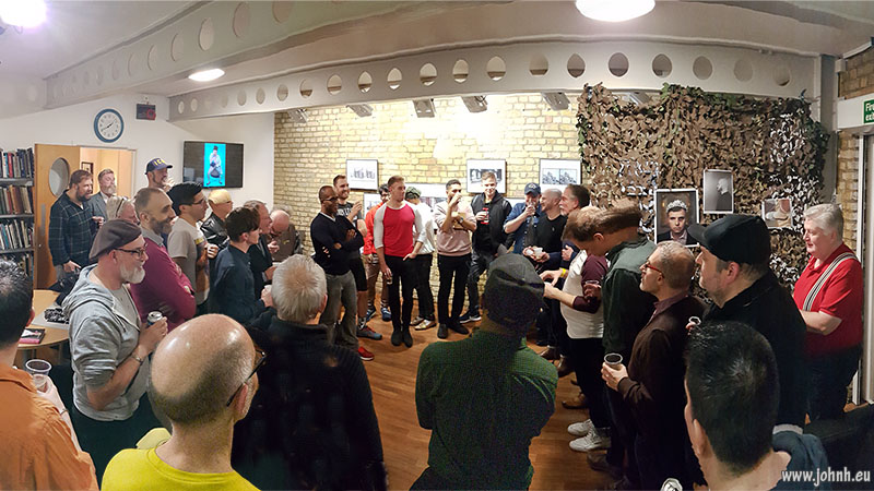 GPN London (Gay Photographers Network) at the Camera Club, Kennington, London