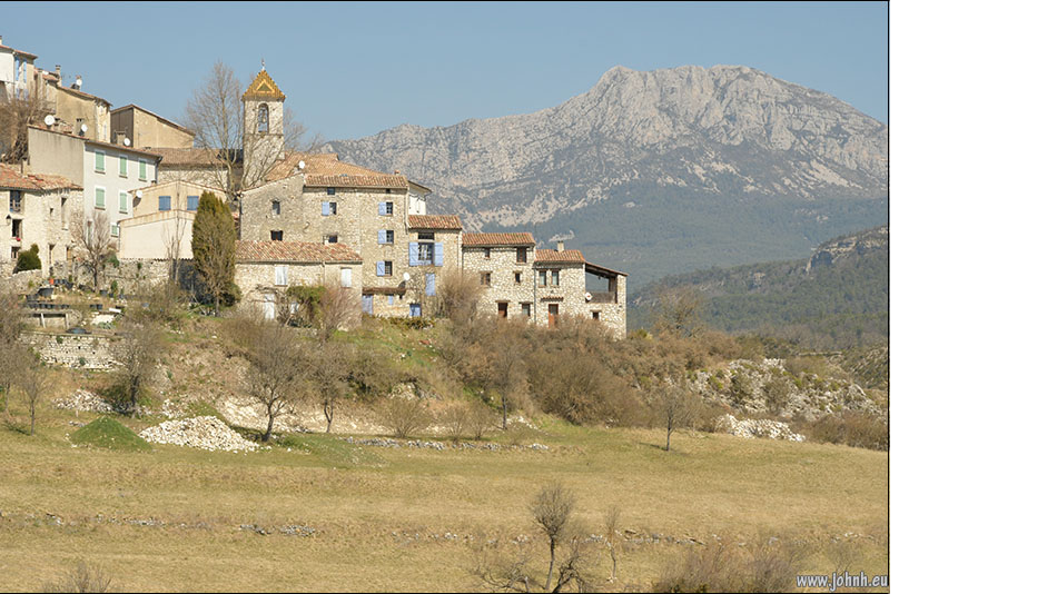 Trigance, village of the Verdon gorges