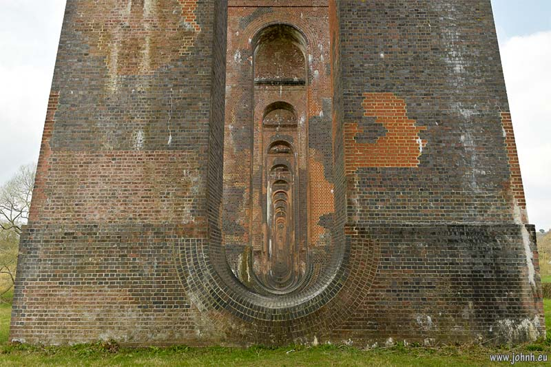 Bricks of the Ouse Valley viaduct