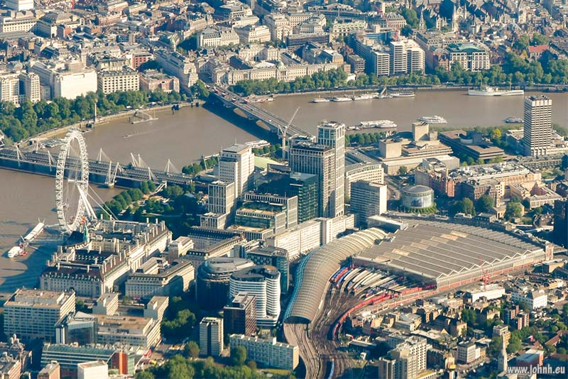 London Eye, South Bank Centre and Waterloo station