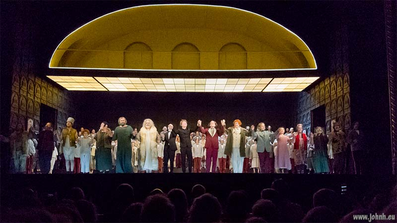 Royal Opera's production of Boris Godunov