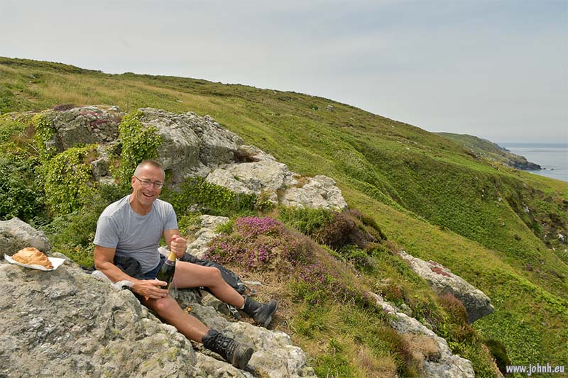Birthday Picnic on the Cornwall Coast Path