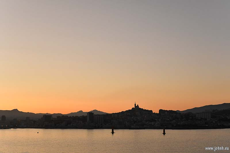 Dawn over Marseille