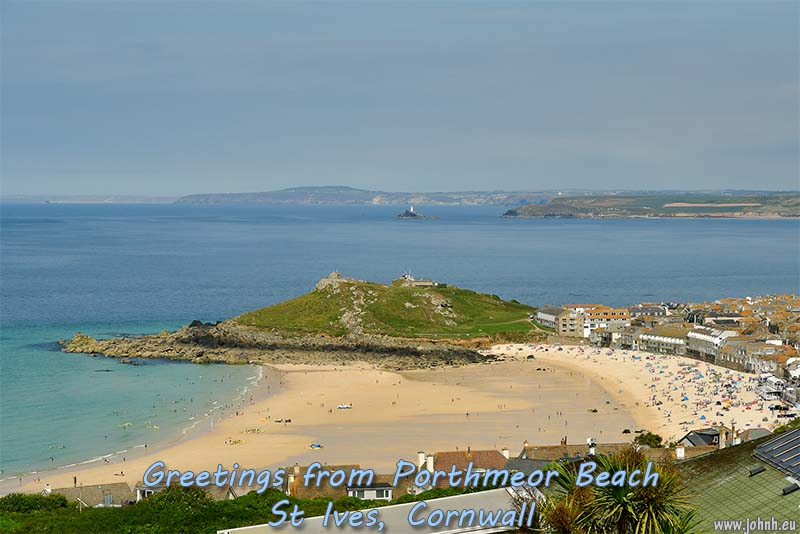Portmeor Beach, St Ives, Cornwall