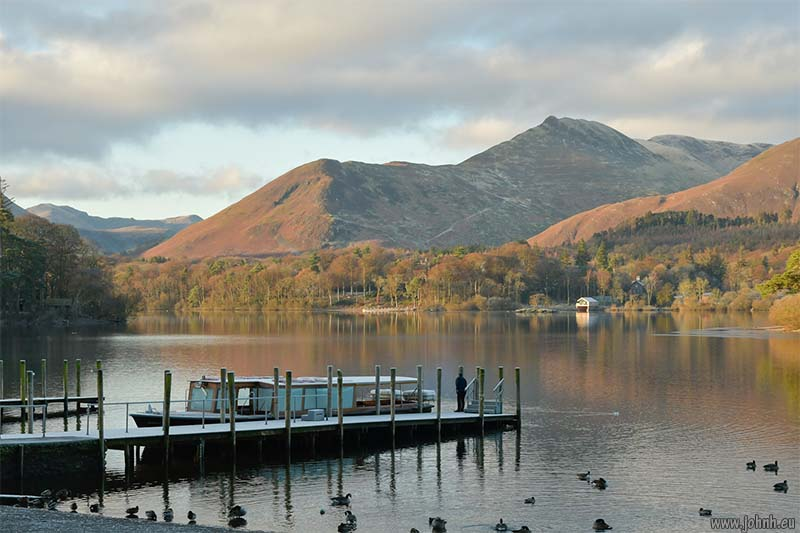 Keswick landing stages, Derwent Water
