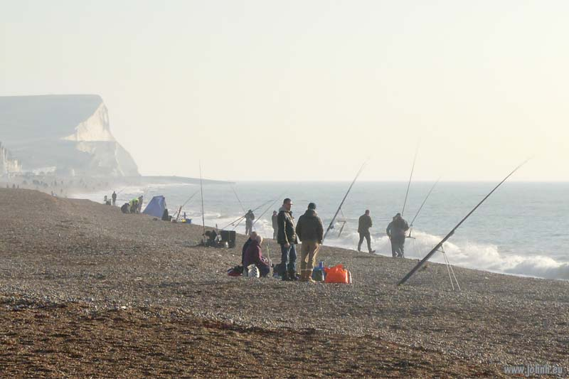 Sea Fishing at Seaford, Sussex