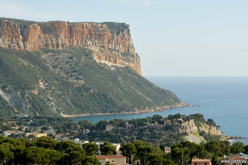 Cap Canaille  and Cassis