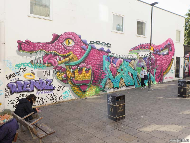Brighton street art, Sept 2020