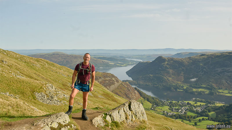Hiking Helvellyn, Lake District National Park