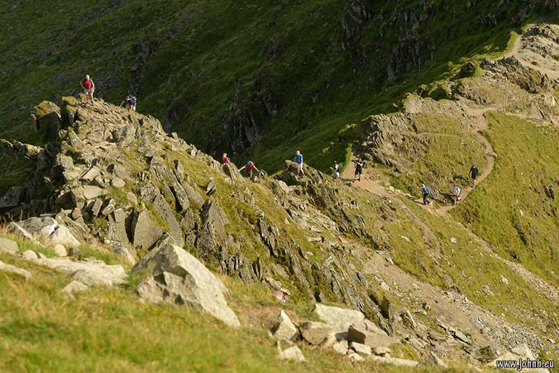 Striding Edge, Helvellyn, Lake District National Park