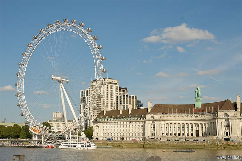 London Eye and City Hall