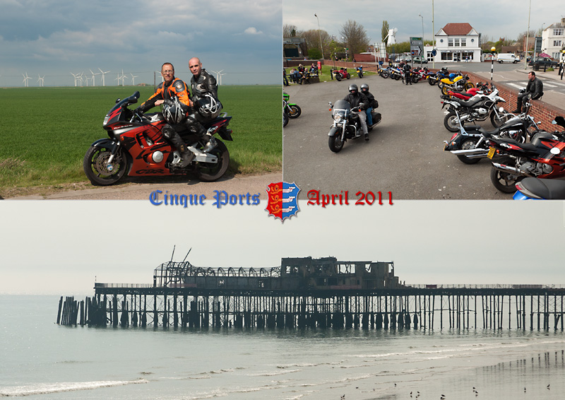 Pictures of the Cinque Ports along the English Channel