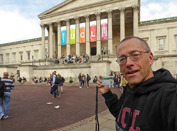 First day at UCL