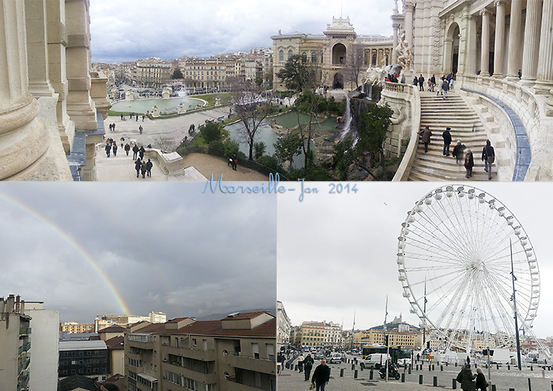 My photos of the Palais Longchamps and the Ferris wheel in the Vieux Port, Marseille