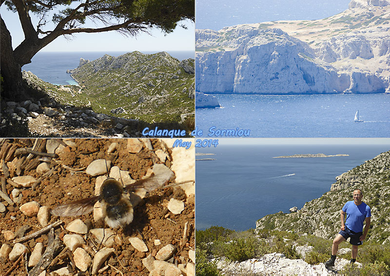Postcard of my photos of Sormiou Calanque, Marseille
