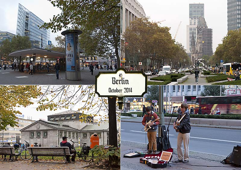 Postcard of some photos of my visit to Berlin
