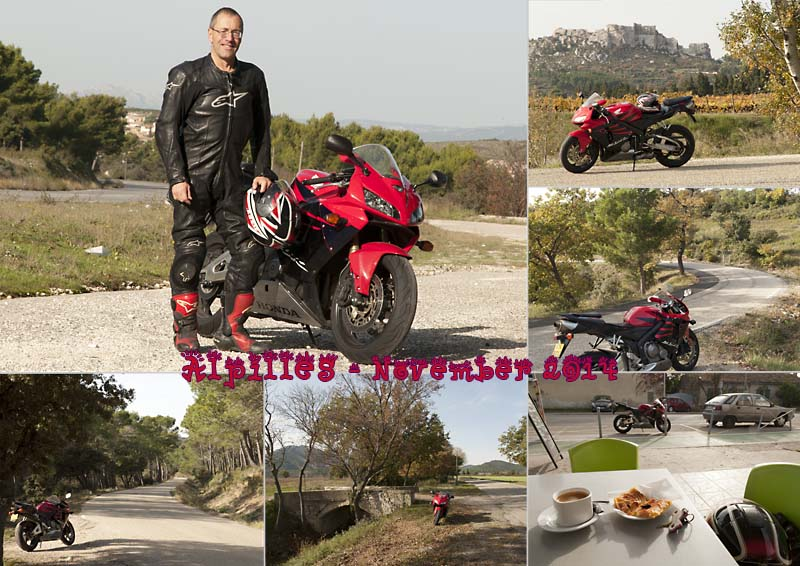 My photos of a great day motorbiking in the Alpilles and Camargue near Marseille, Provence