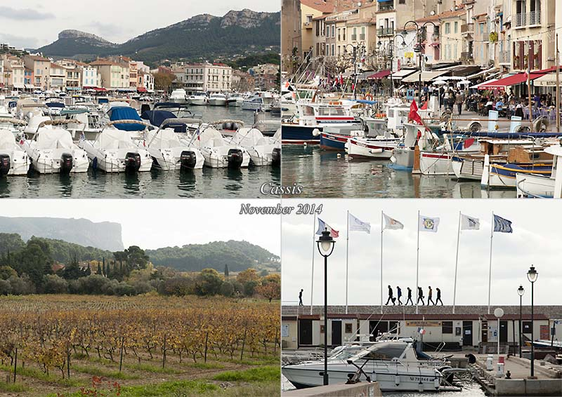 My photo postcard of Cassis