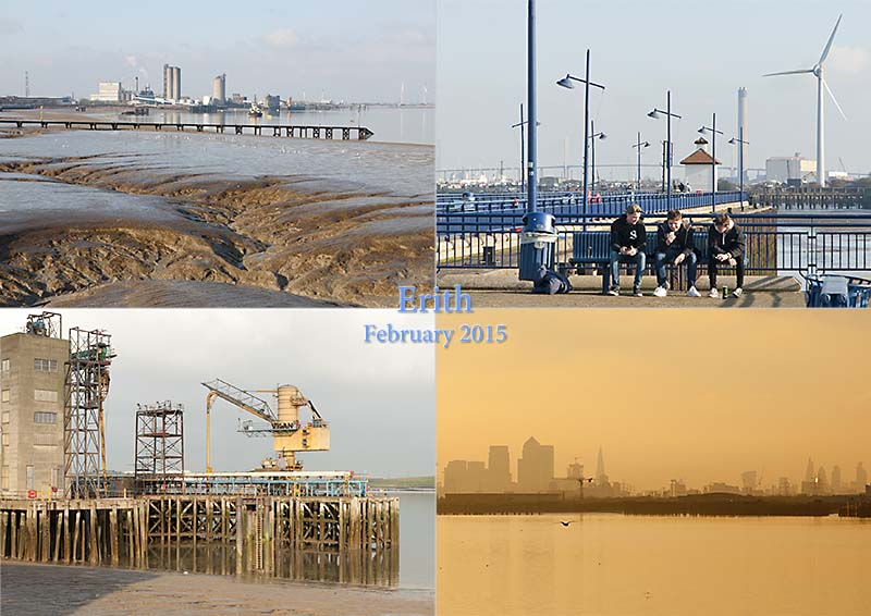 Postcard from Erith and the Thames Path, February 2015