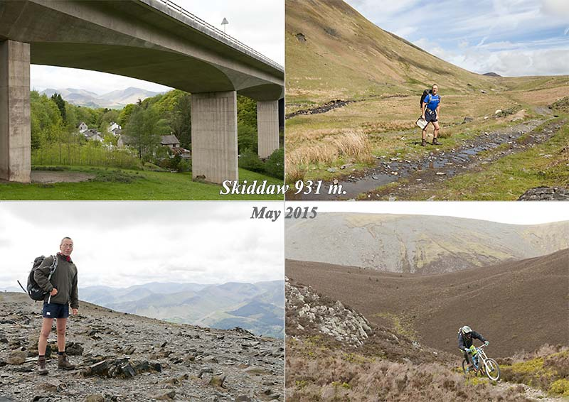 My photos of a hike round and up Skiddaw from Keswick