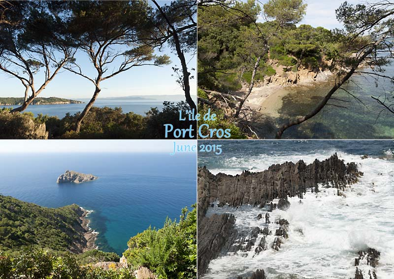 Port Cros, French Mediterranean island