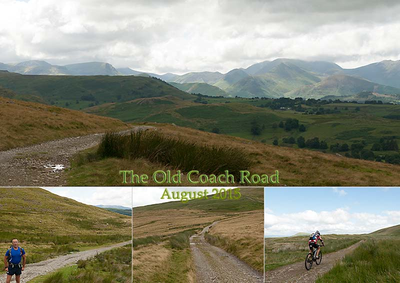 Walking from Keswick to Patterdale along the Old Coach Road