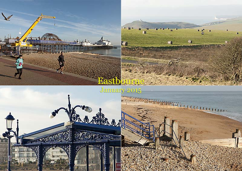 My photo postcard from Eastbourne in Sussex