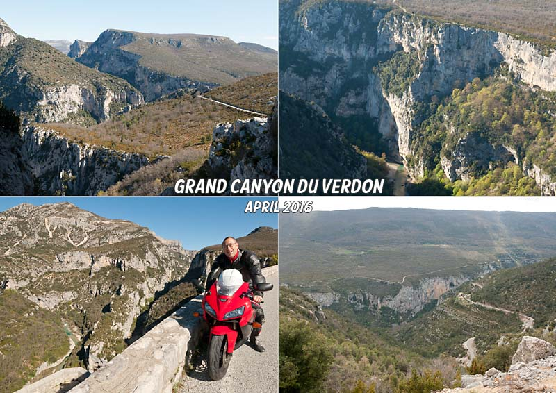 Tour of the Grand Canyon of the Verdon
