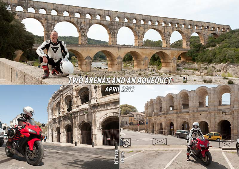 The Pont du Gard and the arenas at Nîmes and Arles