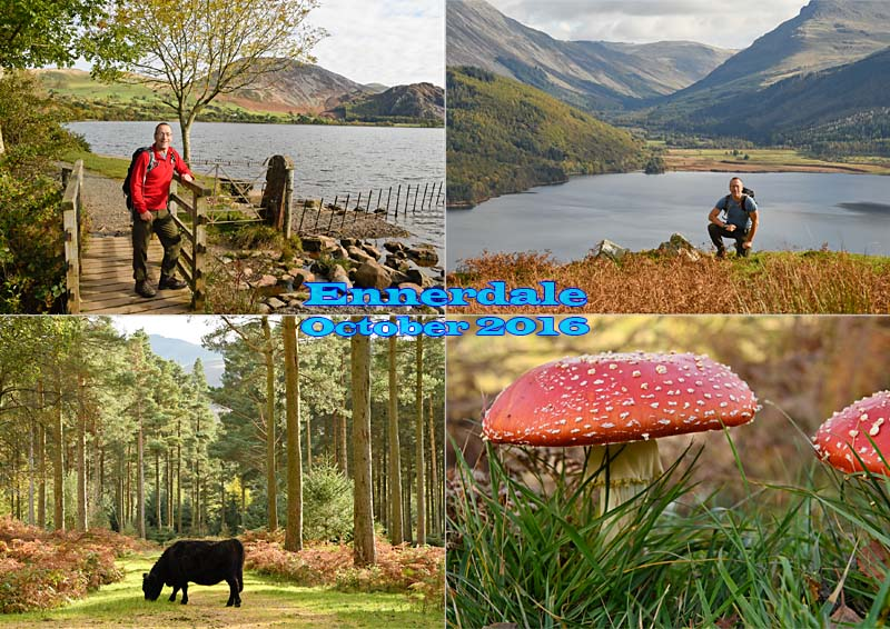 Hike around Ennerdale Water, West Cumbria