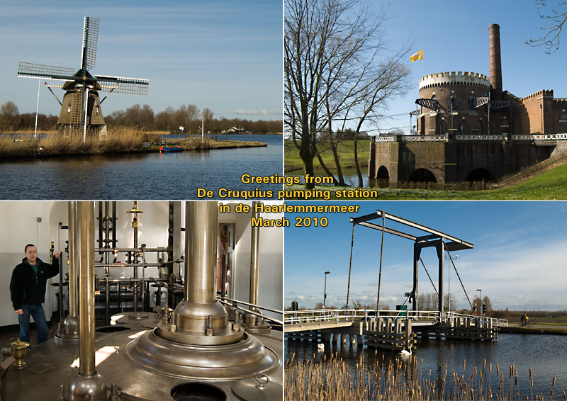 Cruquius Pumping station