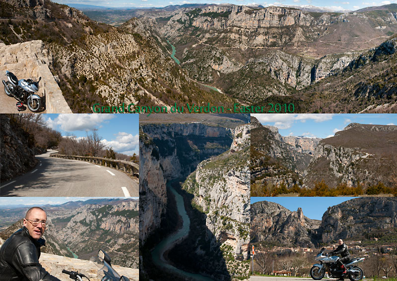 Postcard from the Gand Canyon of the Verdon