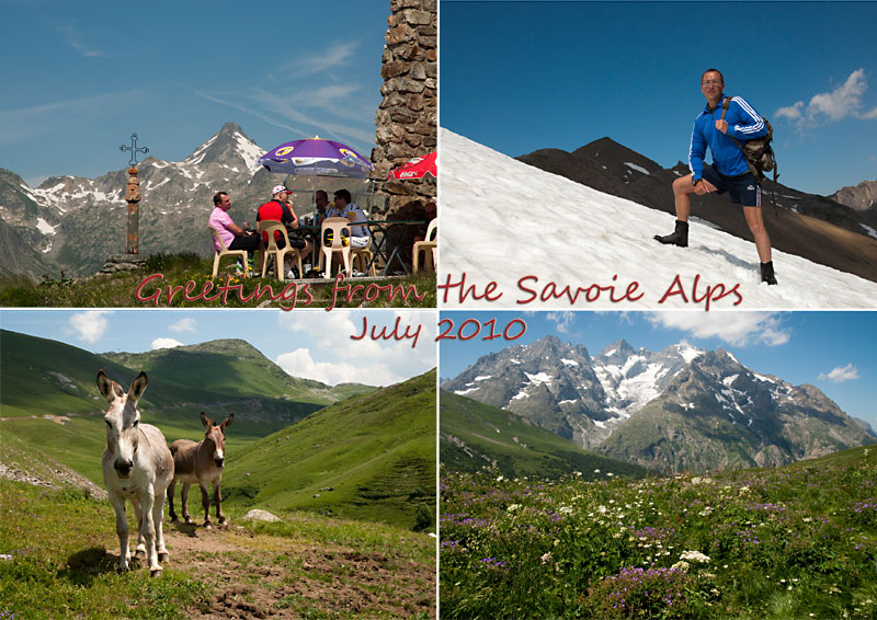 Postcard from the Savoie Alps