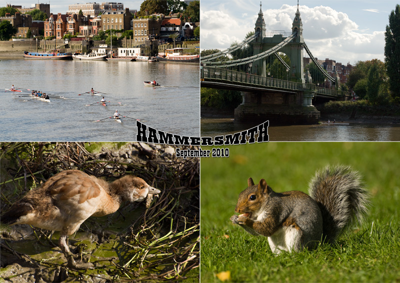 View of Hammersmith, West London