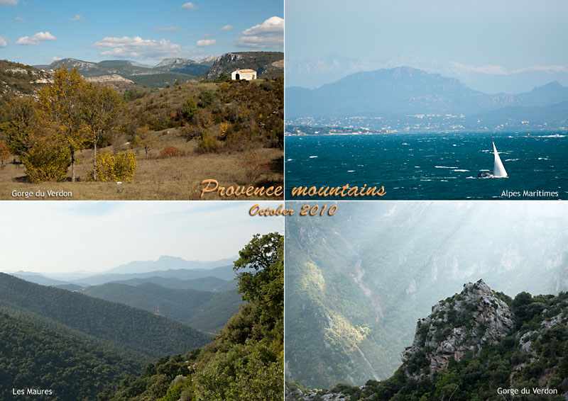 Mountains in Provence