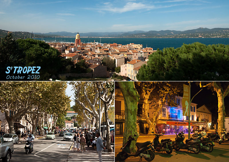 Views of St Tropez, Provence, France