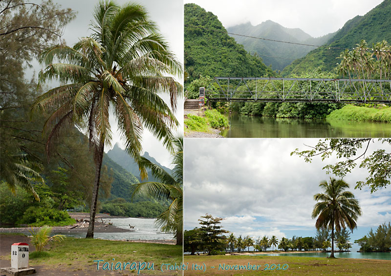 Views of Taiarapu (Tahiti Itu)
