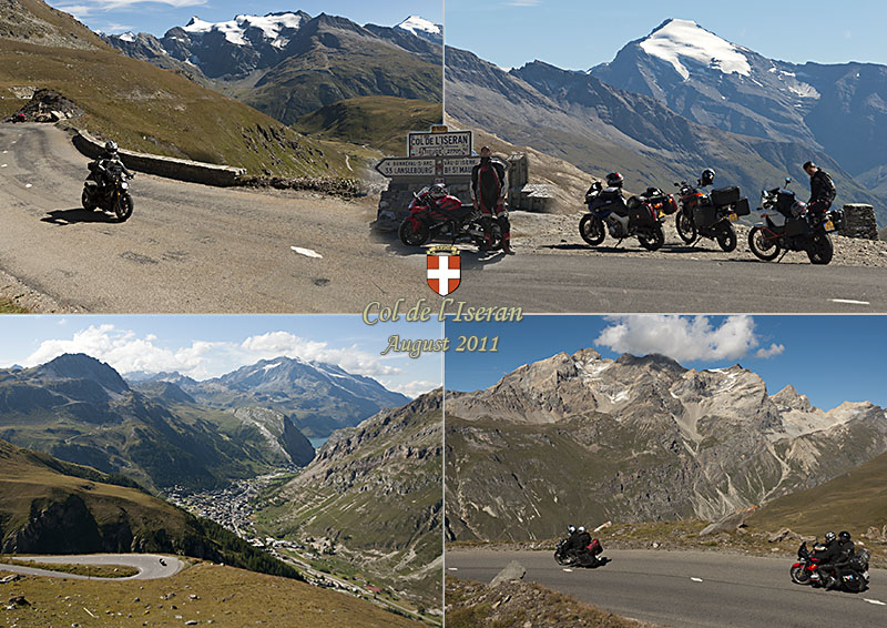 Postcard of the Col de l'Iseran, 2770 m