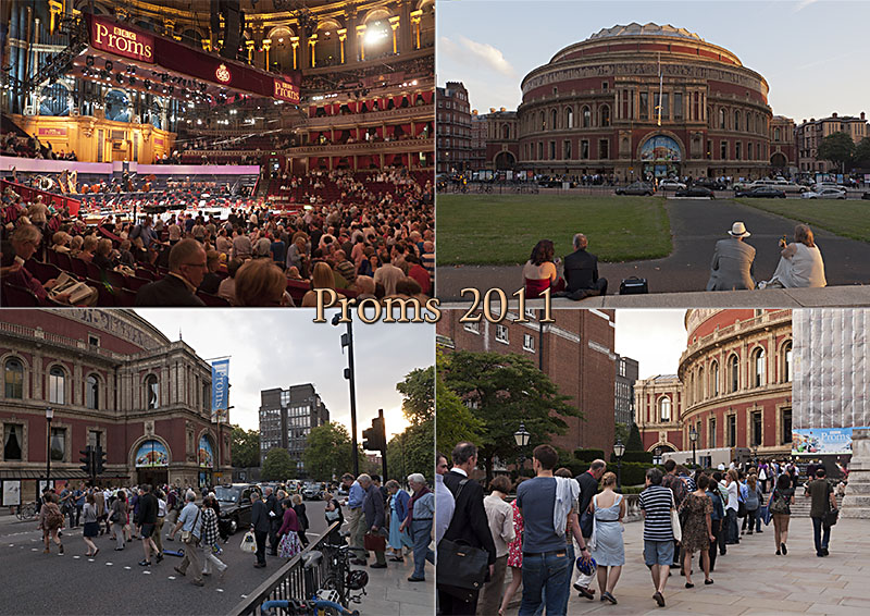 Postcard from the BBC Proms