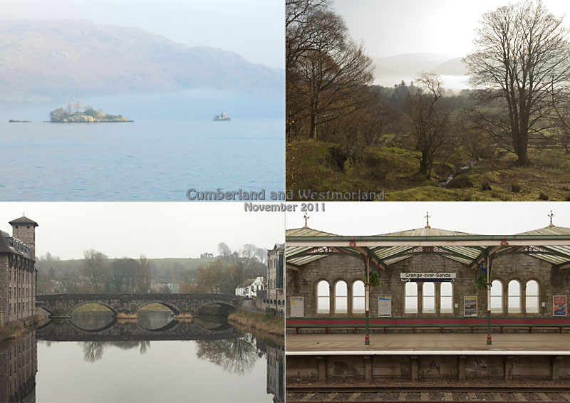 My postcard of my photos from a trip north to south through Cumbria