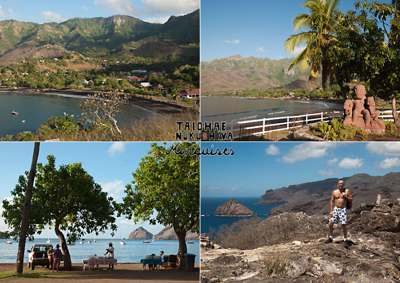 Postcard from Taiohae, Nuku Hiva