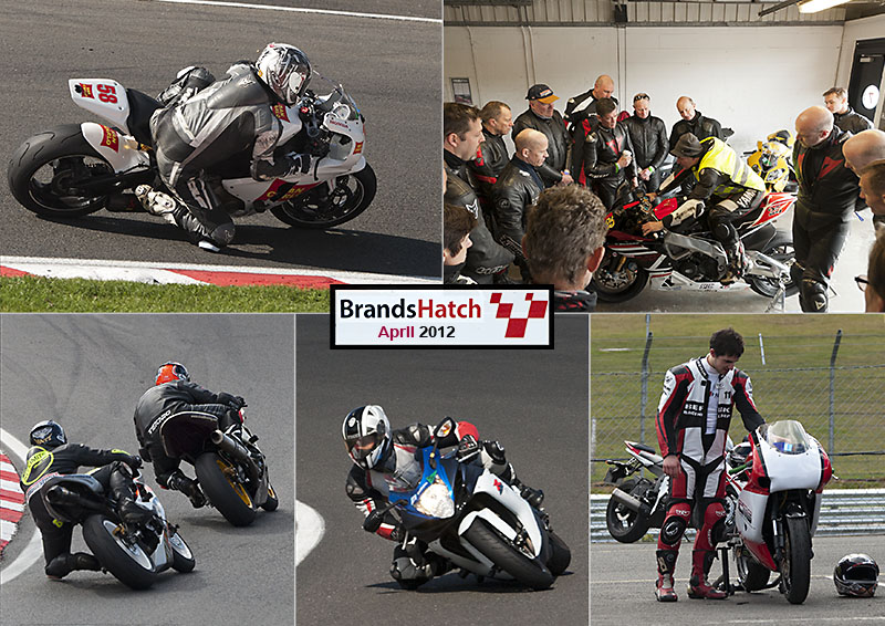 Brands Hatch motorbike track day - April 2012