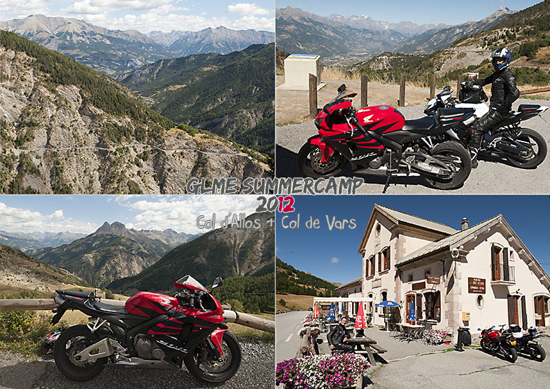my photos of the col d'Allos and the col de Vars