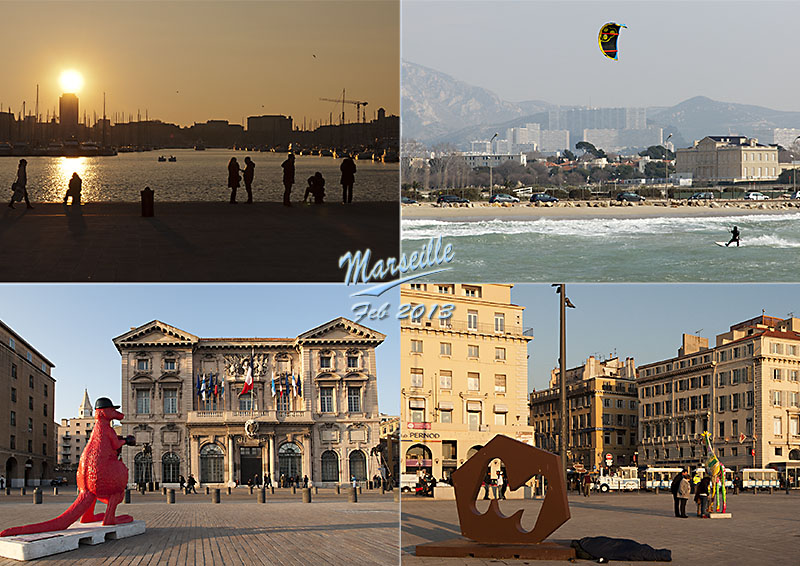 Postcard from Marseille on a chilly weekend in February