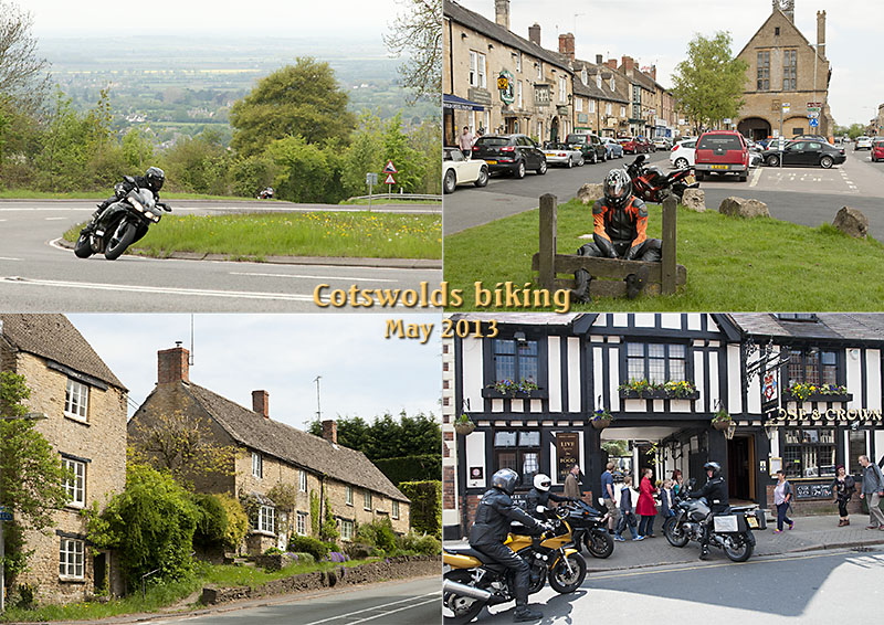 Fish Hill, Moreton-in-Marsh stocks and the Rose & Crown in Stratford-on-Avon