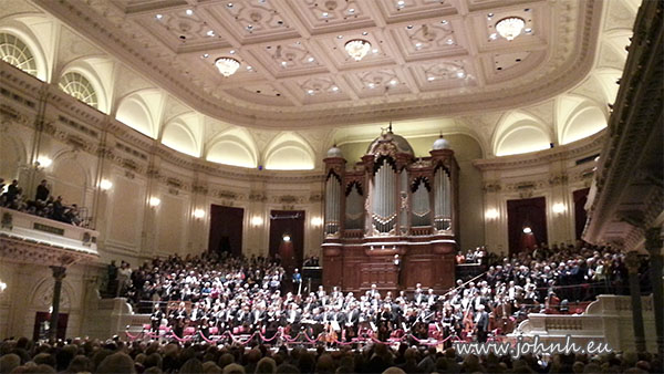 Nederlands Philharmonisch Orkest at the Concertgebouw