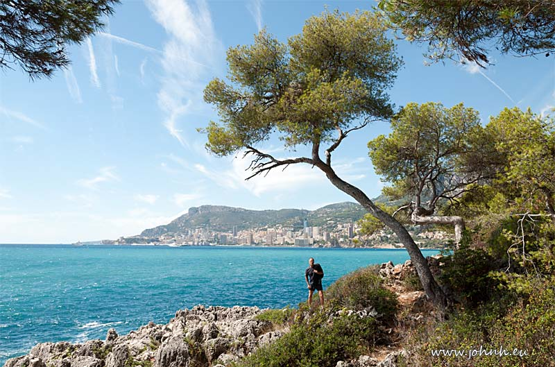 Hiking from Monaco to Menton