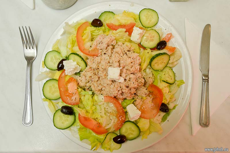 Fresh crab salad - GBMCC run to Rye.